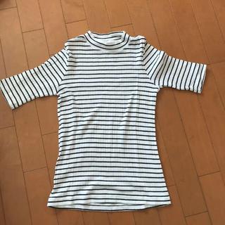 UNIQLO - ユニクロ ボーダーTシャツ [美品]