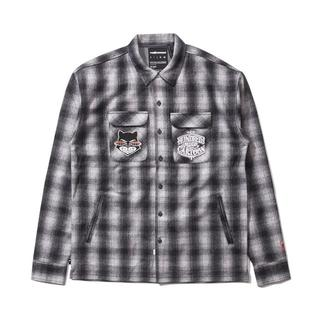 Mr Cartoon The Hundreds Bronson GREY シャツ(その他)