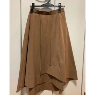 エストネーション(ESTNATION)のエストネーション スカート 36 ブラウン(ひざ丈スカート)