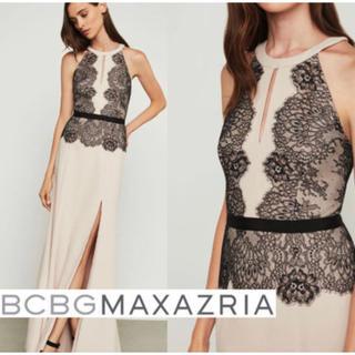 ビーシービージーマックスアズリア(BCBGMAXAZRIA)のBCBGロングドレス美品(ロングドレス)