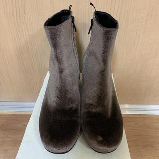 H&M - H&M ブーツ ショートブーツ 靴 レディース  パーティー ヒール 未使用