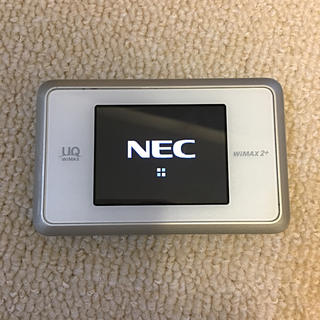 エヌイーシー(NEC)のWiMAX2+ ワイマックス モバイルルーター  next wx03(PC周辺機器)