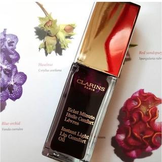 CLARINS - コンフォートリップオイル ブラックベリー