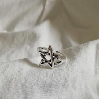 Ungrid - 【再入荷】925 star ring * 2