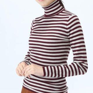 MUJI (無印良品) - 無印良品 タートルネックセーター