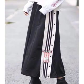 adidas originals ロングスカート ジャージ