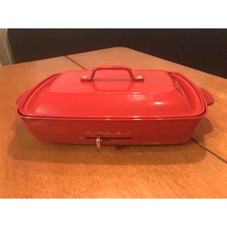 ブルーノ ホットプレート グランデサイズ  仕切り付き深鍋付き