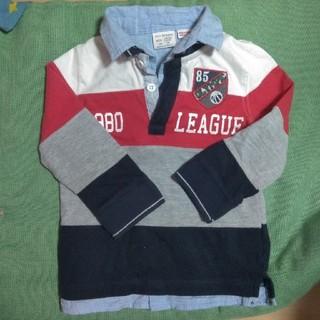 ザラキッズ(ZARA KIDS)のザラキッズ長袖ポロシャツ Tシャツ2枚セット(Tシャツ/カットソー)