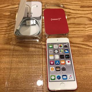 アップル(Apple)のiPod touch 第7世代 (PRODUCT) RED 128GB(ポータブルプレーヤー)