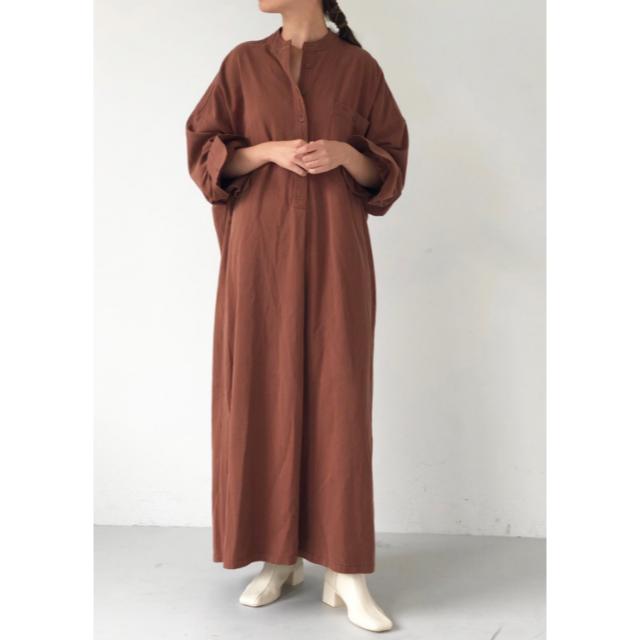 TODAYFUL(トゥデイフル)のTODAYFUL Cottontwill Shirts Dress  レディースのワンピース(ロングワンピース/マキシワンピース)の商品写真