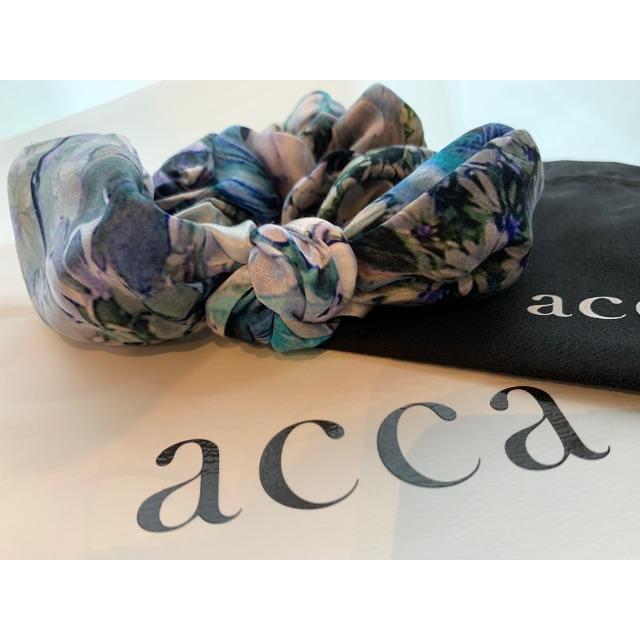 acca(アッカ)のacca バニーシュシュ アッカ リボンシュシュ ヘアゴム シュシュ レディースのヘアアクセサリー(ヘアゴム/シュシュ)の商品写真