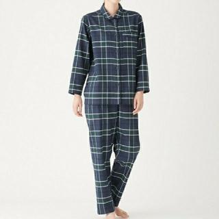 MUJI (無印良品) - 脇に縫い目のないフランネルパジャマ