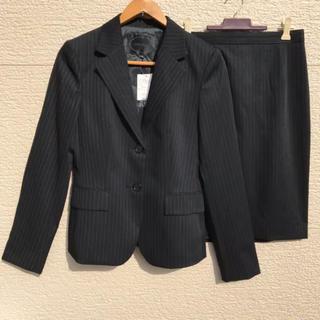アンタイトル(UNTITLED)の新品 UNTITLED スーツ セットアップ ストライプ ジャケット スカート (スーツ)