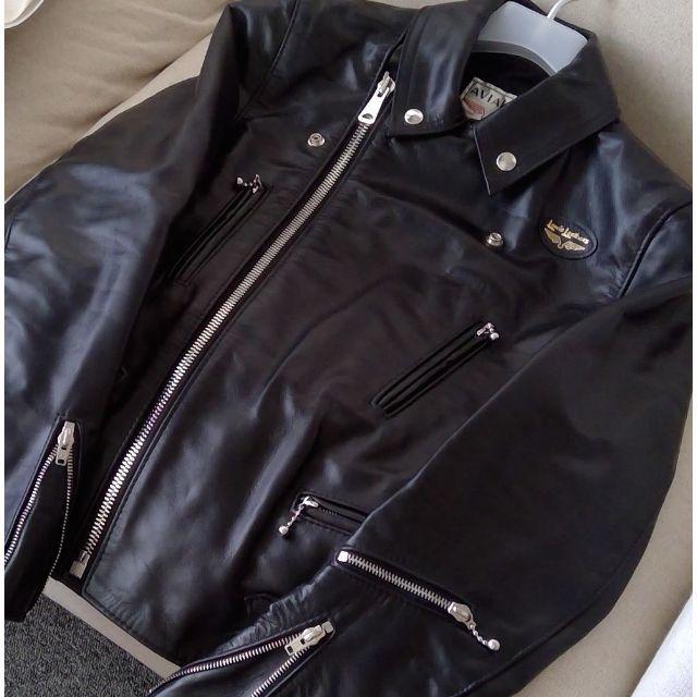 Lewis Leathers(ルイスレザー)の新品 ルイスレザー ライトニング 391T タイト ホースハイド メンズのジャケット/アウター(レザージャケット)の商品写真
