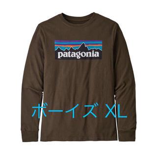 patagonia - パタゴニア ロングスリーブ ブラウン XL