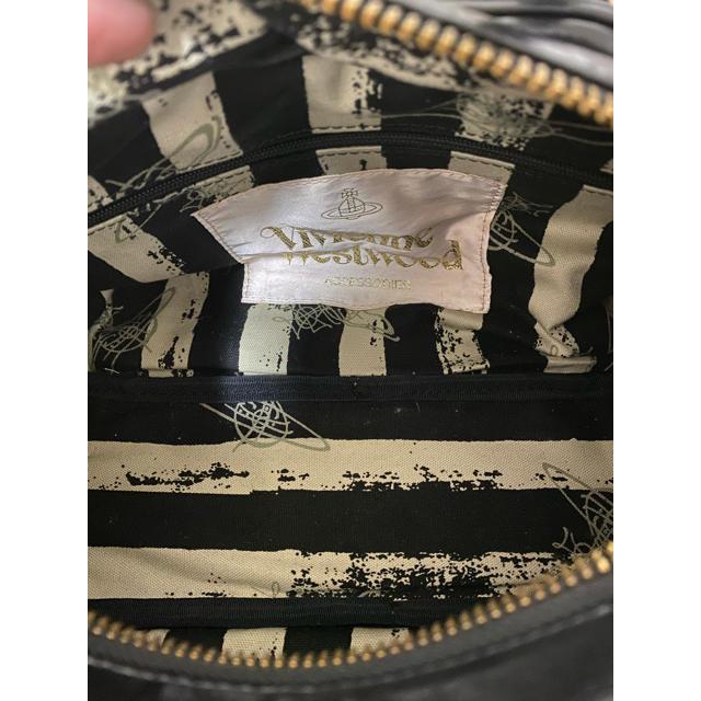 Vivienne Westwood(ヴィヴィアンウエストウッド)のヴィヴィアンウエストウッド Vivienne Westwood バッグ激レア黒 レディースのバッグ(ハンドバッグ)の商品写真