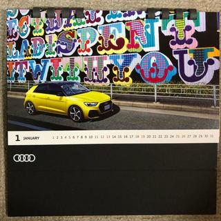 アウディ(AUDI)のアウディ プジョー 卓上カレンダーセット 2020(カレンダー/スケジュール)
