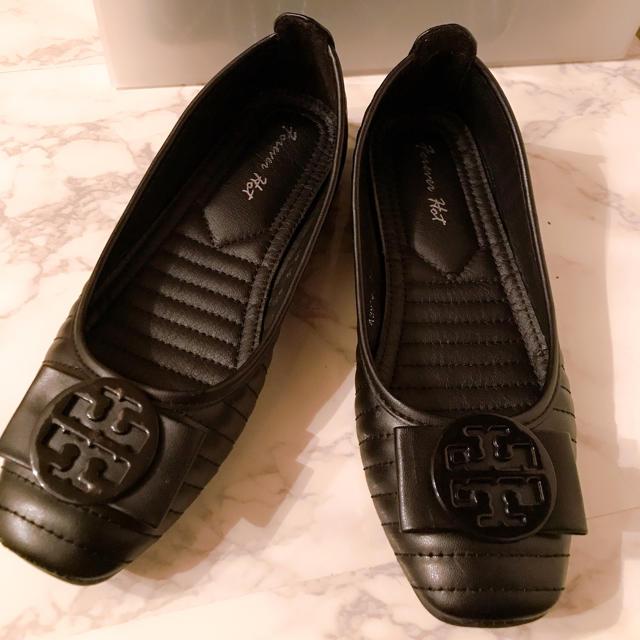 Tory Burch(トリーバーチ)のトリーバーチ風フラット パンプス レディースの靴/シューズ(バレエシューズ)の商品写真