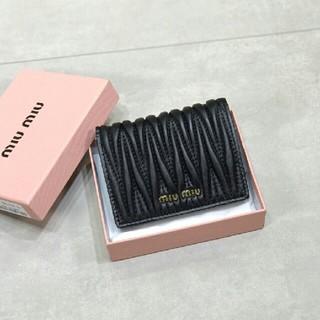 miumiu - MIUMIU【新品、未使用】 財布