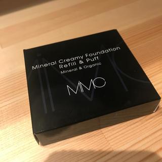 エムアイエムシー(MiMC)のMIMC ミネラル新品!クリーミーファンデーション リフィル 103 ベージュ(ファンデーション)