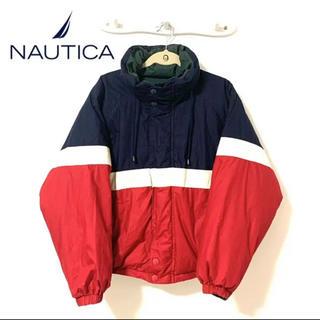 ノーティカ(NAUTICA)のNAUTICA ノーティカ トリコカラー ダウンジャケット リバーシブル メンズ(ダウンジャケット)