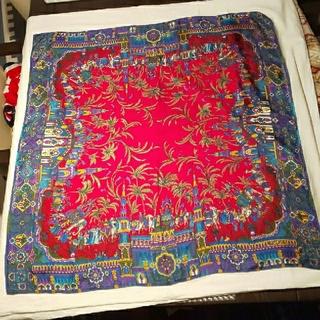 モスキーノ(MOSCHINO)のMOSCHINOシルクスカーフ(バンダナ/スカーフ)