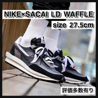 ナイキ(NIKE)の【27.5cm】NIKE×SACAI LD WAFFLE(スニーカー)