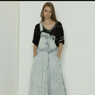 GRACE CONTINENTAL - 新品 グレースコンチネンタル サロペスカート