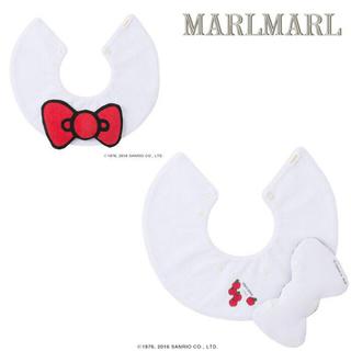 ハローキティ(ハローキティ)の新品 スタイ MARLMARL キティ マールマール サンリオ Sanrio(ベビースタイ/よだれかけ)