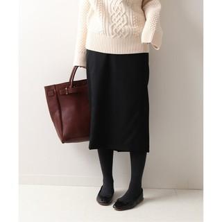 フレームワーク(FRAMeWORK)のFRAMeWORK【フレームワーク】☆サキソニータイトスカート 新品ブラック36(その他)