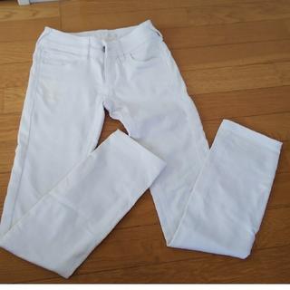 白ストレッチパンツ  Sサイズ(スキニーパンツ)