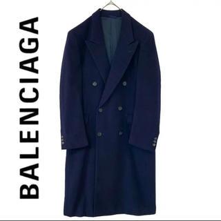 Balenciaga - BALENCIAGA バレンシアガ カシミア ダブル ロングコート チェスター