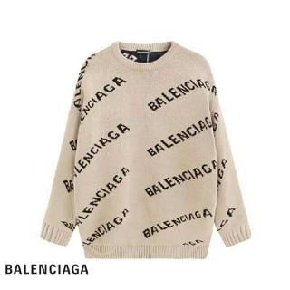 Balenciaga - BALENCIAGA ニットセーター 男女兼用