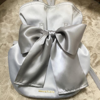 メゾンドフルール(Maison de FLEUR)のメゾンドフルール 巾着リボンリュック(リュック/バックパック)