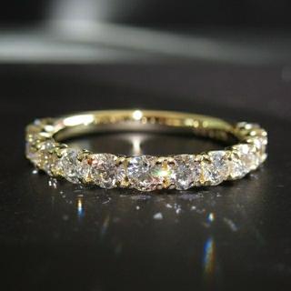 k18 ダイヤモンド リング 1カラット(リング(指輪))