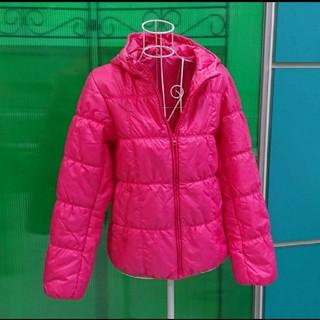ユニクロ(UNIQLO)の[美品]UNIQLO ユニクロ ローズピンクのジャケット(ダウンジャケット)