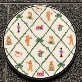 ナルミ(NARUMI)のナルミ テディベアプレート 鍋敷き(収納/キッチン雑貨)
