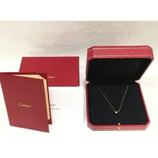Cartier - 【正規品】ピンクゴールド カルティエ ディアマン レジェ ネックレス SM PG