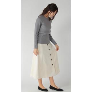 イッカ(ikka)のSdv エステルコールスカート(ロングスカート)