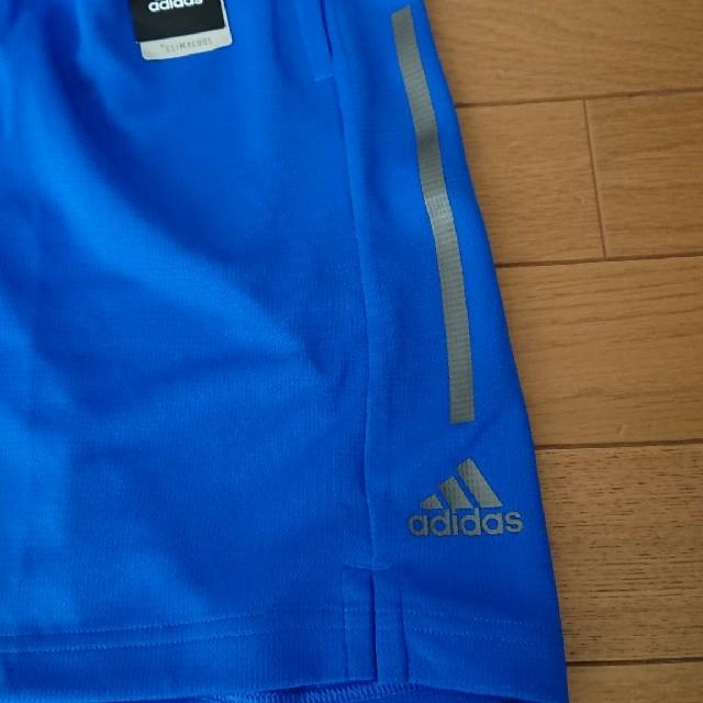 adidas(アディダス)の【160】adidasハーフパンツ キッズ/ベビー/マタニティのキッズ服男の子用(90cm~)(パンツ/スパッツ)の商品写真