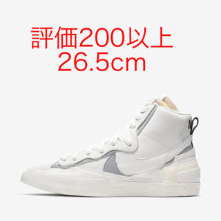 NIKE - Nike x sacai blazer white  26.5cm