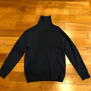 ユナイテッドアローズ(UNITED ARROWS)のユナイテッドアローズ  ニット  Sサイズ  ネイビー色(ニット/セーター)