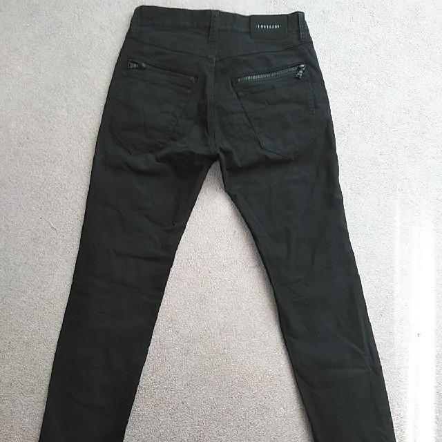 LOVELESS(ラブレス)のLOVELESS 76 黒 ライダー スキニー パンツ ラブレス(ジーンズ、デニ メンズのパンツ(チノパン)の商品写真
