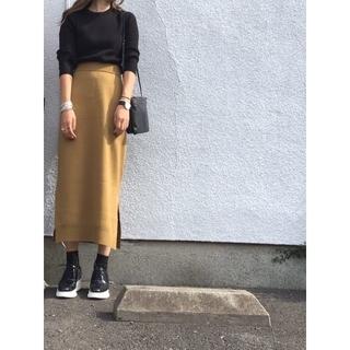 ENFOLD - ENFOLD ニット スカート 38 エンフォルド