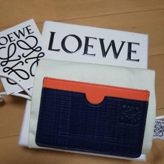ロエベ(LOEWE)のロエベLOEWE 名刺入れ カードケース(名刺入れ/定期入れ)