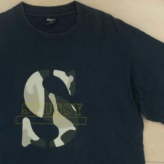 ステューシー(STUSSY)のSTUSSY Tシャツ 迷彩ロゴ(Tシャツ/カットソー(半袖/袖なし))