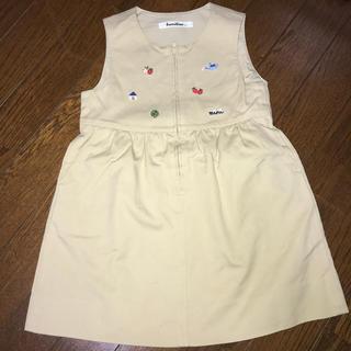 familiar - ワンピース ジャンパースカート