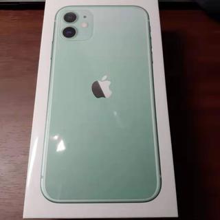iPhone - iPhone11 128GB グリーン SIMフリー 新品未開封