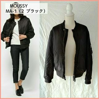 マウジー(moussy)のMOUSSY マウジー★MA1 ブラック M レディース ブルゾン 黒 女性用(ブルゾン)