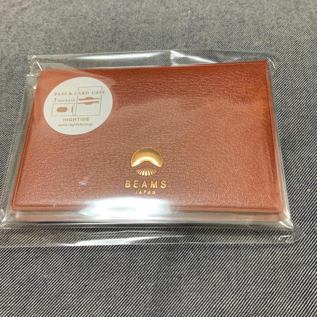 BEAMS(ビームス)のbeams パスケース  カードケース レディースのファッション小物(名刺入れ/定期入れ)の商品写真